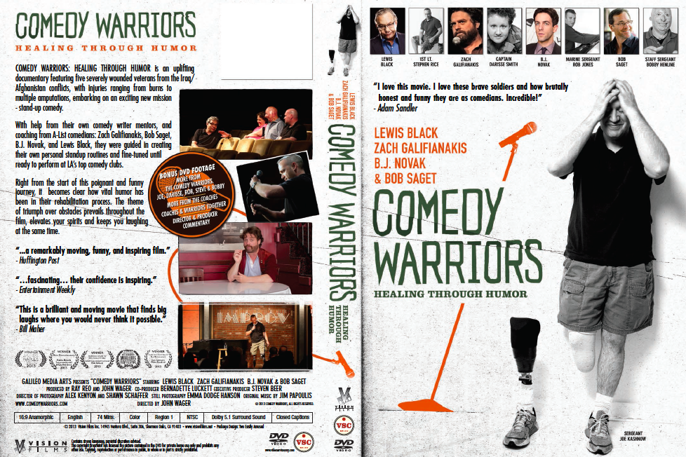 Comedy warriors HTH DVD post production video editing albany ny