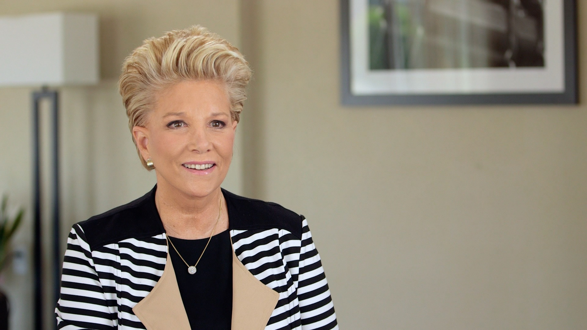 Galileo Media Arts works with Joan Lunden for Amgen Cancer research