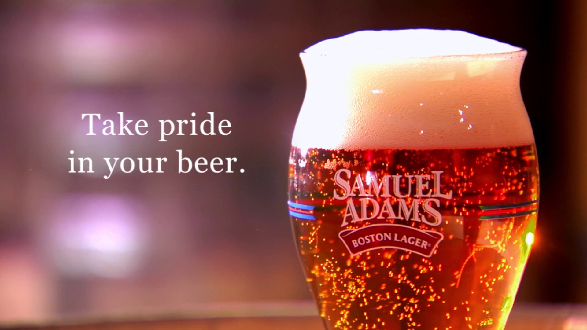 Galileo Media Arts produces commercial for Samuel Adams Boston Lager glass